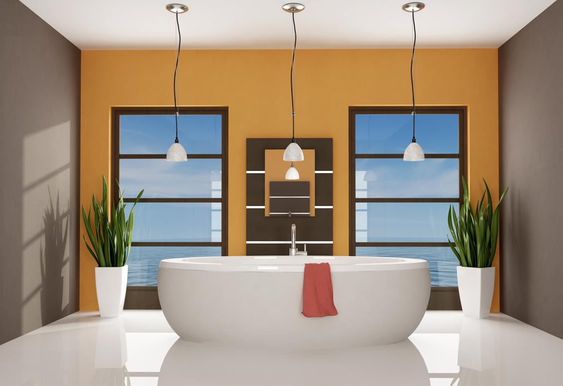 Pintura para ba os duchas con encanto for Colores para pintar portones