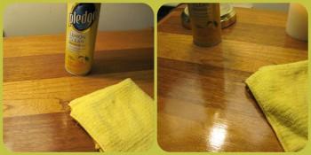Cómo limpiar los muebles del hogar.