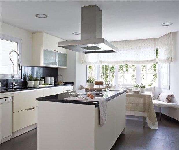 Cocinas blancas beneficios ideas tendencias for Cocinas minimalistas blancas