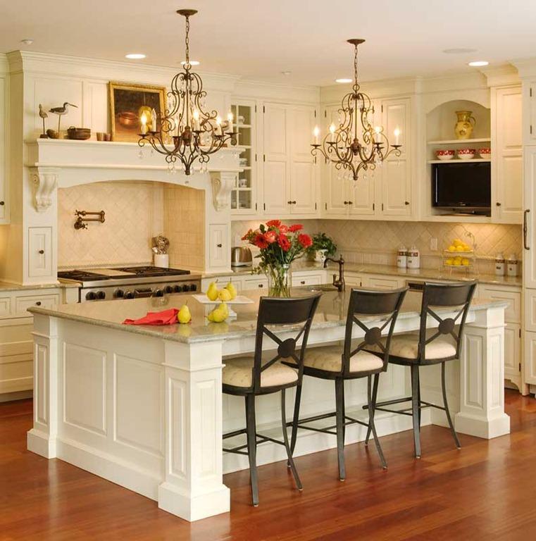 Cocinas con islas dise os y tipos for Muebles de cocina con isla central