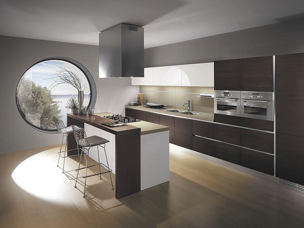 Cocinas integrales modernas usos fotos ideas y espacios - Imagenes de cocinas integrales pequenas modernas ...