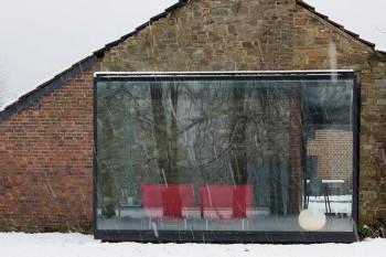 Decorando las terrazas con cristal.