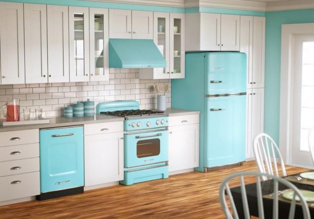 Electrodomésticos, piezas de gran utilización en cocinas.