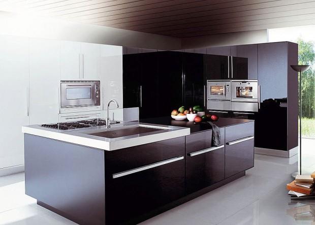 Modernidad en cocinas integrales.