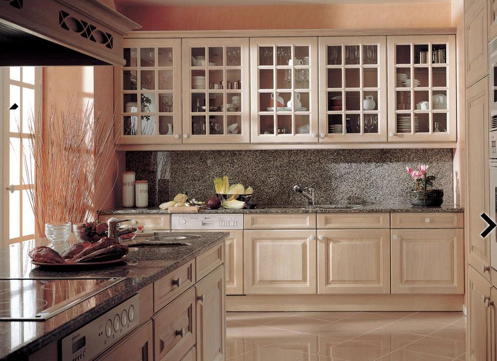 Cocinas de madera - Imagenes de muebles de cocina ...