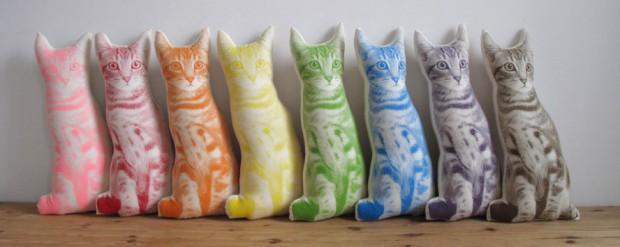 Almohadones modernos con forma de animales 2