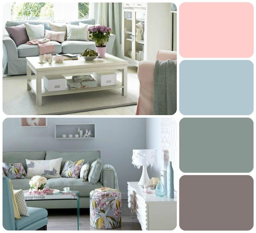 Colores para decorar en esta primavera verano 2014 - Color pintura salon ...