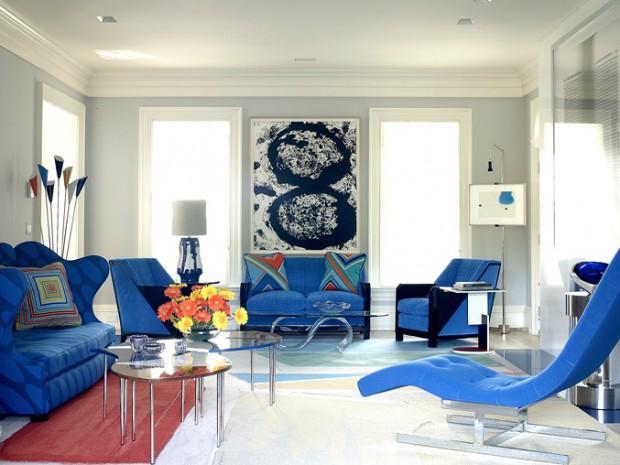 Decoración de verano en color azul 2
