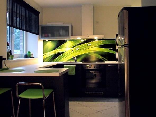 Electrodomésticos negros para la cocina 2