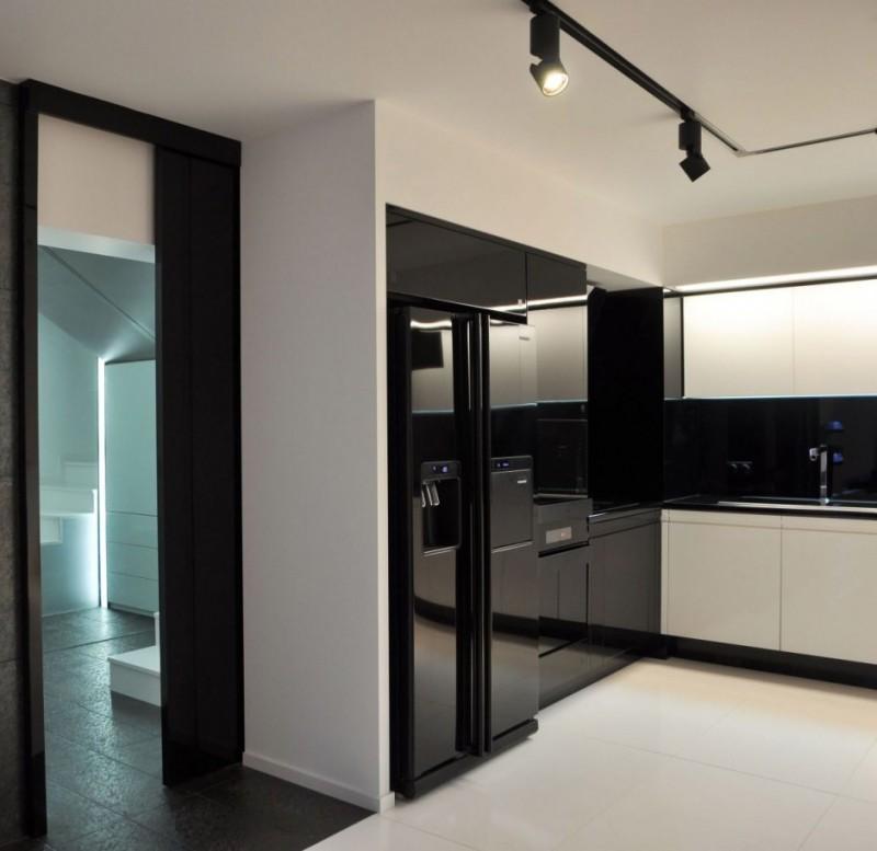 Electrodomésticos negros para la cocina 3