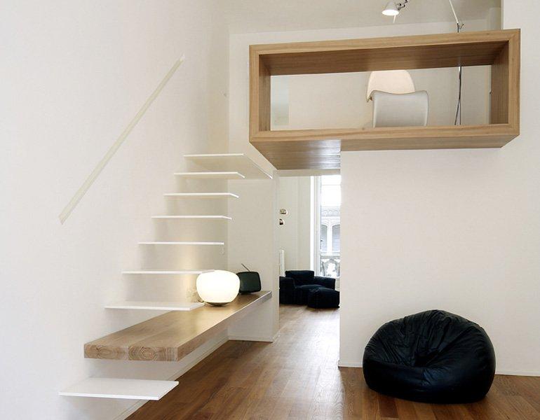 Ideas para combinar blanco y madera 2