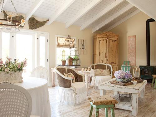 Ideas para combinar blanco y madera en la decoracin