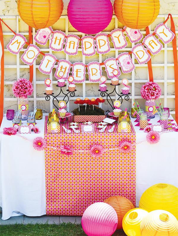 Ideas para decorar la casa en el d a de las madres - Decoracion para el dia de la madre ...