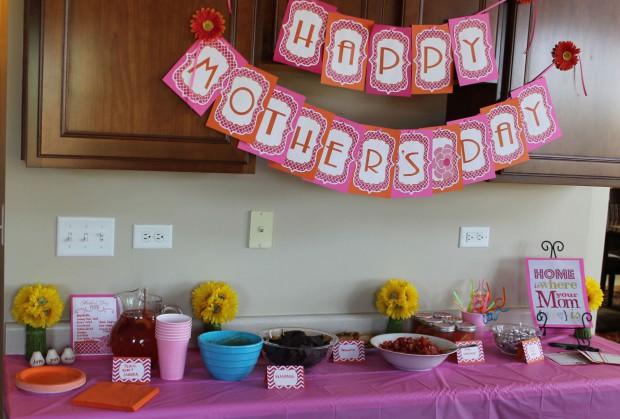 Ideas para decorar en el día de las madres 3