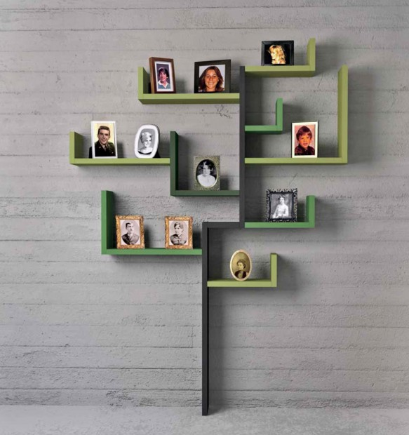 Ideas para decorar pared con arbol genealogico 3
