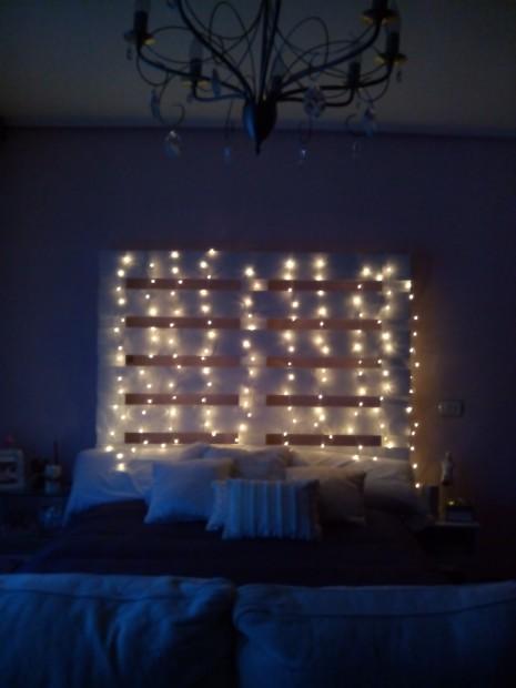 Muebles de palets con luces 3