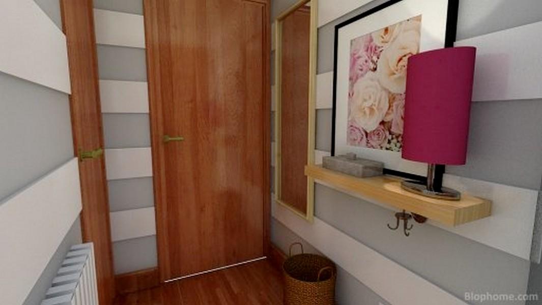 Un espejo detras de la puerta 2