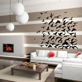 Vinilos decorativos con diseño de gaviotas 2