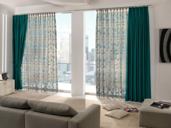 Diversidad en tipos de cortinas.