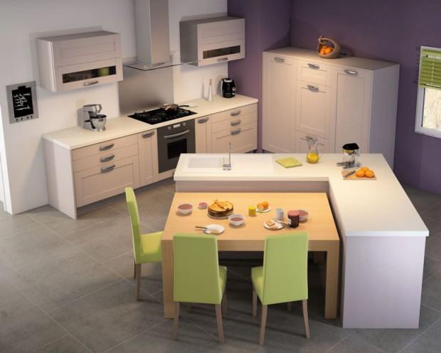 mesas para cocinas