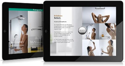 Hansgrohe App para iPad