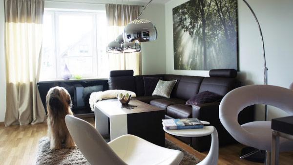 Ideas de decoraci n moderna de apartamentos y estancias for Como decorar un departamento moderno