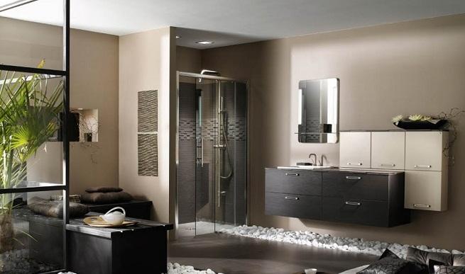 Ideas de decoración moderna de baños.