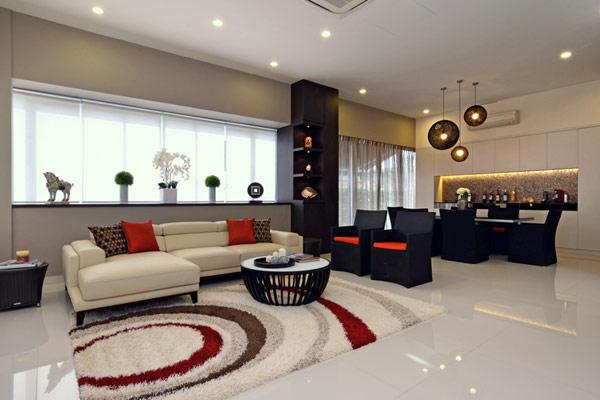 Ideas de decoración moderna de interiores.