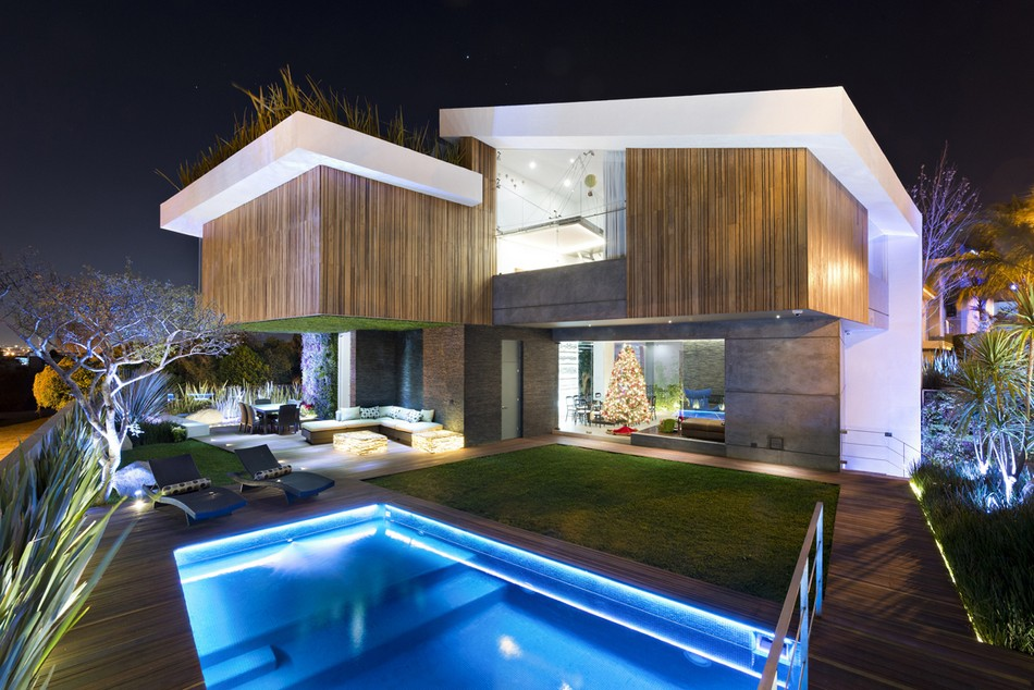 10 fotos de piscinas super elegantes - Fotos de casas con piscina ...