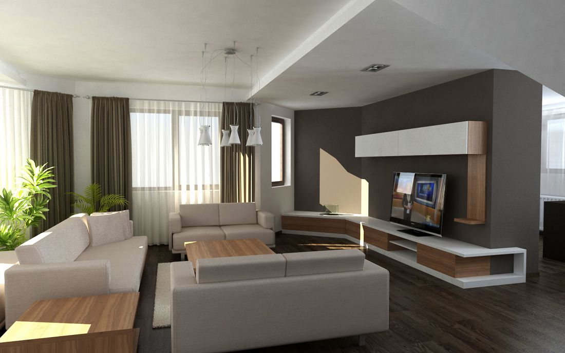 30 fotos de decoracion de interiores modernas for Decoracion interiores living