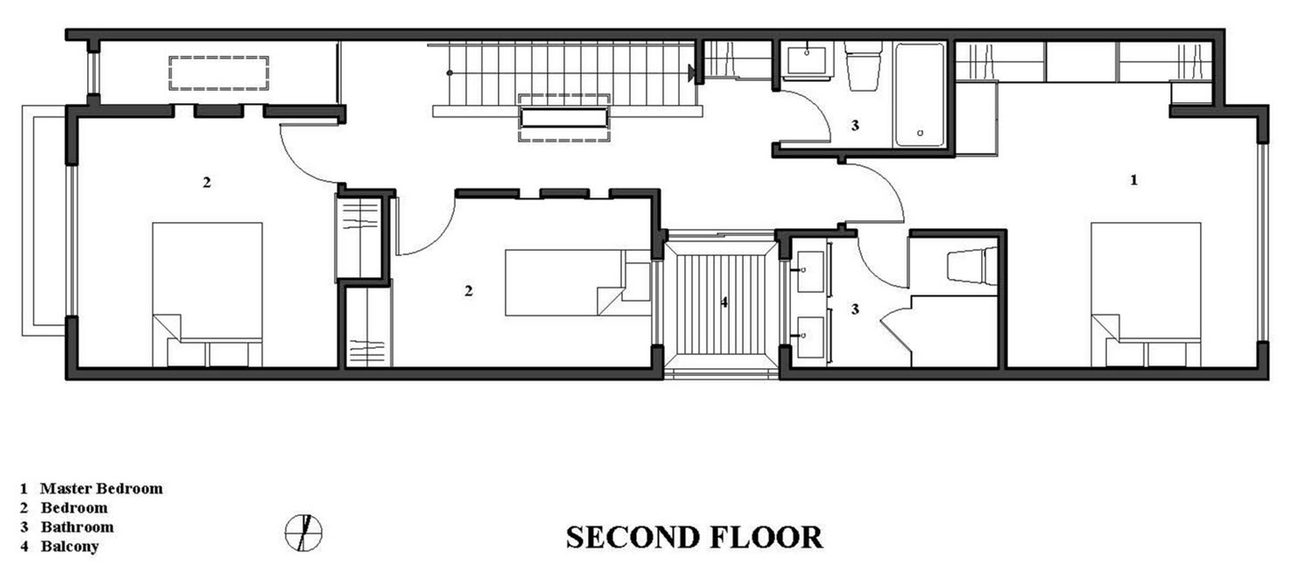 Planos de casas gratis con medidas