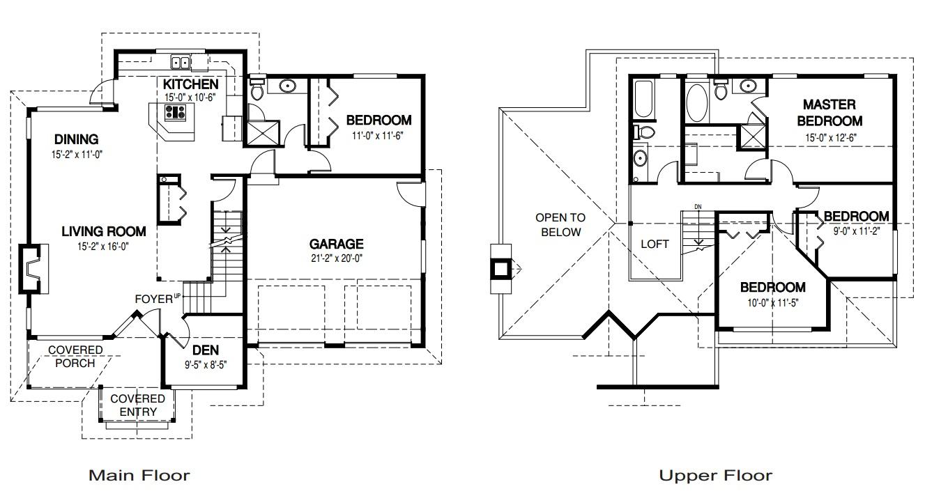 Planos de casas gratis con medidas for Estudio de arquitectura en ingles