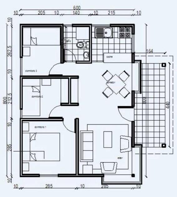 Planos de viviendas econ micas for Programa para planos de casas