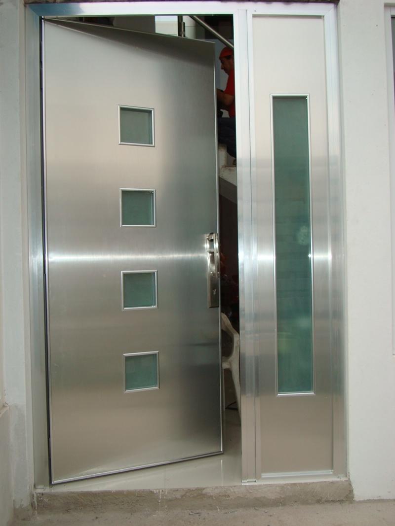 Fotos de puertas de aluminio modernas - Puertas de aluminio de exterior ...