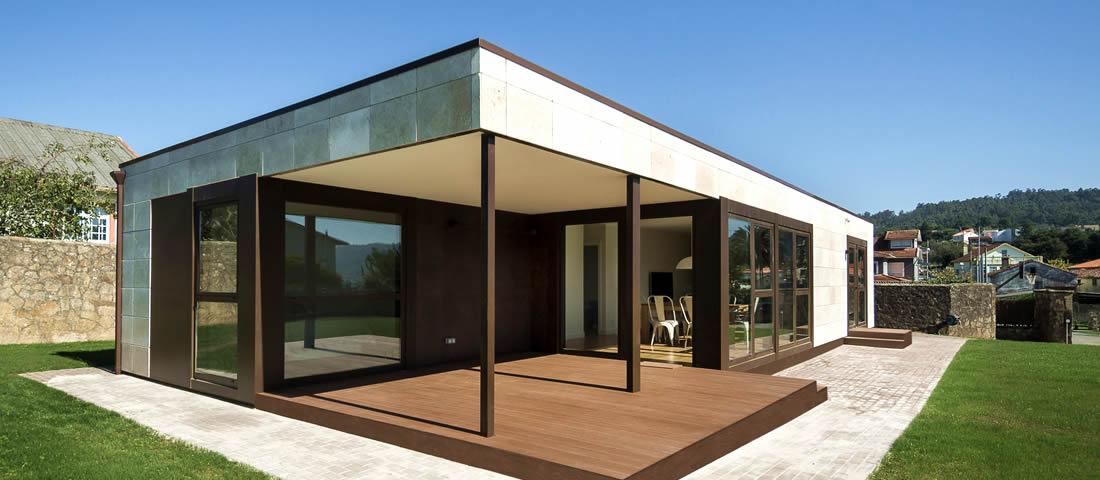 Fotos y precios de casas prefabricadas for Casas industrializadas precios y modelos