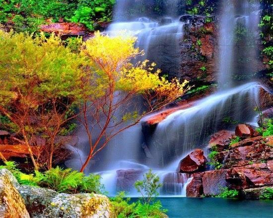 Los 100 paisajes mas hermosos del mundo - Los banos mas bonitos ...