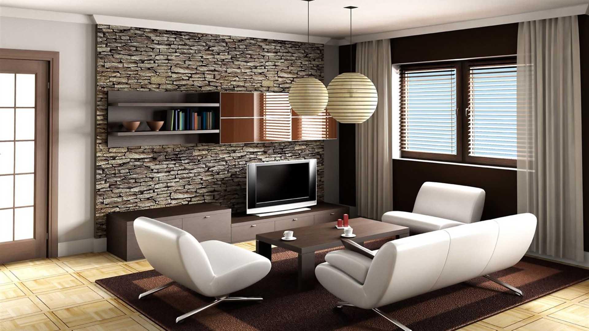 Salas Minimalista Llenas De Color # Muebles De Sala Fucsia