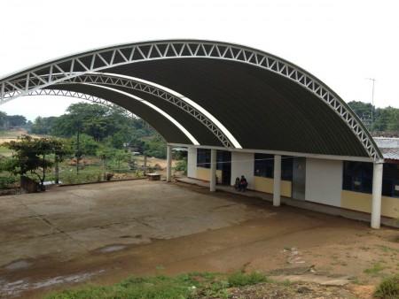 Los techos sin estructura