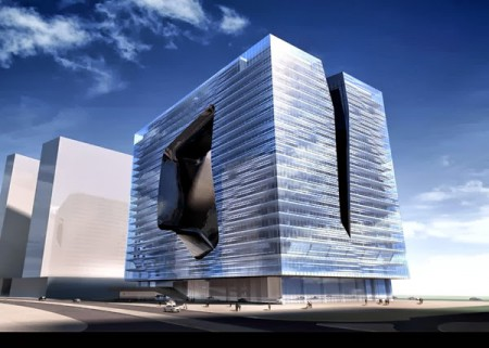 Zaha Hadid y su nuevo hotel para Dubai.
