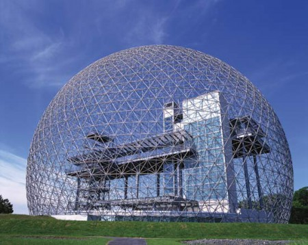 Biósfera en Montreal.