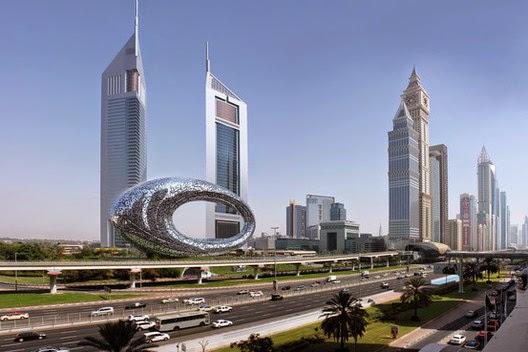 El nuevo museo futurista de Dubai para descargar