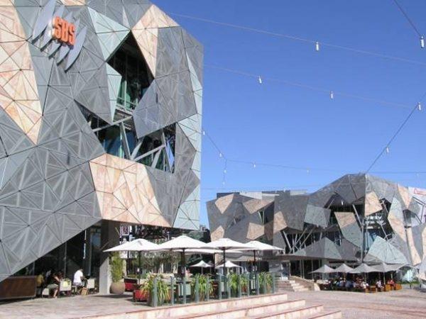 Plaza Federación de Melbourne.