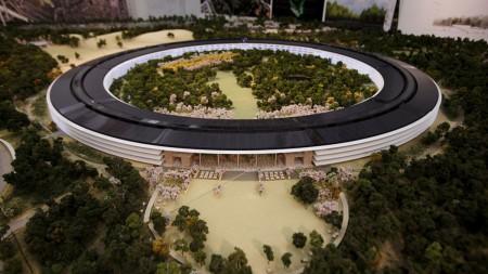 Sustentabilidad de la sede Apple, maqueta