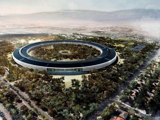 Sustentabilidad de la sede Apple.