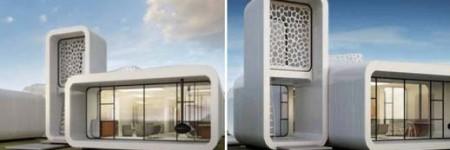 Dubai y su edificio con impresoras 3D, fotos