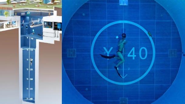 Y-40 Deep Joy, la piscinas mas grande del mundo