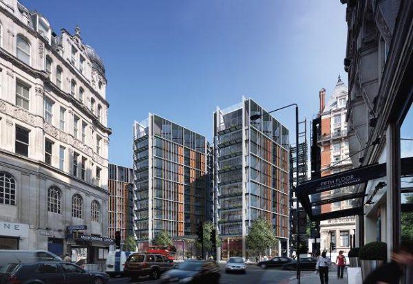 One Hyde Park » es un Exclusivo complejo residencial y comercial situado en Knightsbridge, Londres.