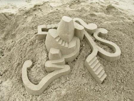 Castillos hechos de arena