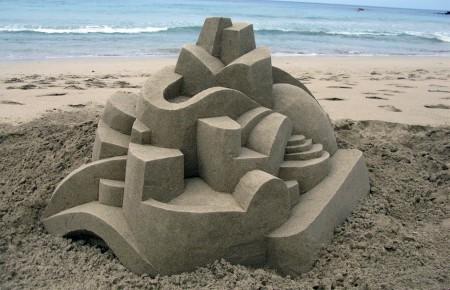Castillos hechos de arena por Calvin Seibert