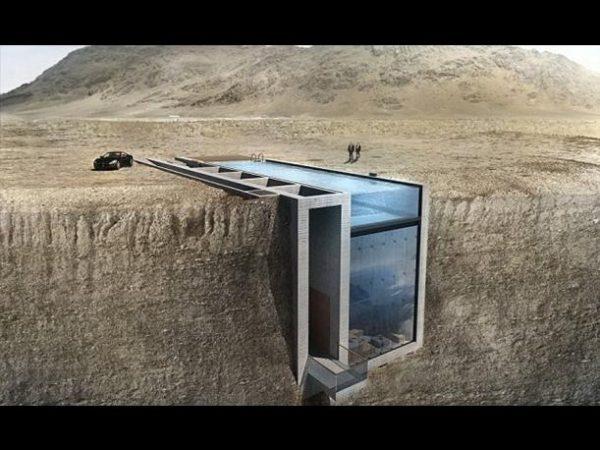Espectacular obra construida dentro de un acantilado (5)